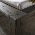 Beams oak, grey oil finish