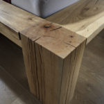 Beams oak, oil finish