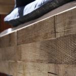 Oak Timber Look, Raw bianco